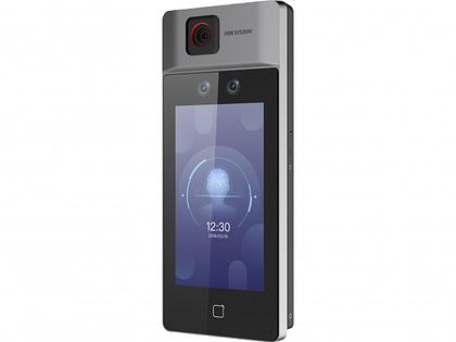 Терминал доступа с функцией распознавания лиц и фильтрации температуры Hikvision DS-K1T671TM-3XF