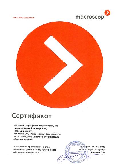 Macroscop Kiselev