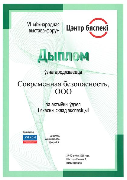 Diplom TSentrbezopasnosti