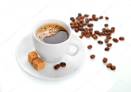 depositphotos  stock photo cup of coffee isolated on